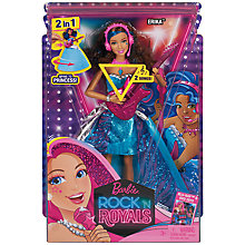 Buy Barbie Rock 'n' Royals Erika Doll Online at johnlewis.com