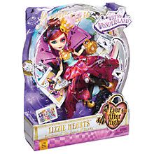 Buy Ever After High Lizzie Hearts Doll Online at johnlewis.com