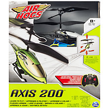 Buy Air Hogs Axis 200 Remote Control Helicopter, Assorted Online at johnlewis.com