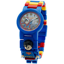Buy LEGO Superman 8020257 Watch Online at johnlewis.com