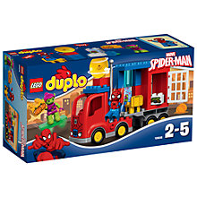 Buy LEGO DUPLO Spider-Man Truck Adventure Bundle with Free Duplo Snail Online at johnlewis.com