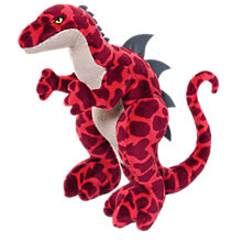 Buy Nici Monster 40cm Plush Soft Toy, Red Online at johnlewis.com