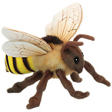 Buy Hansa Hand Sewn Honey Bee Soft Toy Online at johnlewis.com
