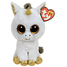 Buy Ty Beanie Boo Pegasus Unicorn Soft Toy Online at johnlewis.com