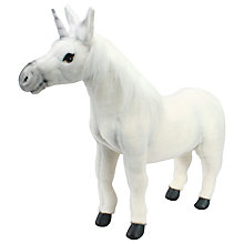 Buy Hansa Hand Sewn Unicorn Soft Toy Online at johnlewis.com