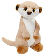 Buy Nici Meerkat Gold Edition 30cm Plush Soft Toy Online at johnlewis.com