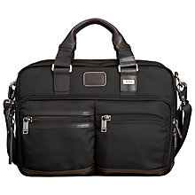 Buy Tumi Andersen Slim Commuter Briefcase, Black Online at johnlewis.com