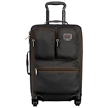 Buy Tumi Alpha Bravo Kirtland International Carry On Bag, Black Online at johnlewis.com