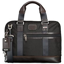 Buy Tumi Earle Compact Briefcase, Black Online at johnlewis.com