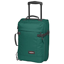 Buy Eastpak Tranverz 2-Wheel Extra Small Cabin Suitcase, Black Denim Online at johnlewis.com
