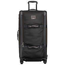 Buy Tumi Alpha Bravo Henderson Expandable Duffel Large, Black Online at johnlewis.com