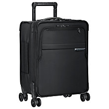 Buy Briggs & Riley Baseline Commuter Carry-On Expandable Spinner 4-Wheel Suitcase Online at johnlewis.com