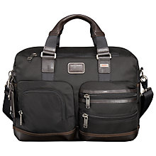 Buy Tumi Everett Essential Tote Bag, Black Online at johnlewis.com
