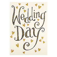 Buy Paper Rose Wedding Day Card Online at johnlewis.com