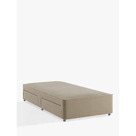 Buy John Lewis Natural Collection Pocket Spring 2 Drawer Divan Storage Bed Fsc Certified