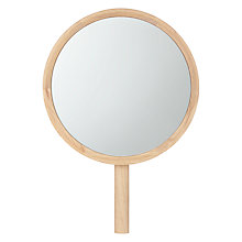 Buy John Lewis Viva Dressing Table Mirror, Oak Online at johnlewis.com