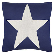 Buy little home at John Lewis Stars & Stripes Cushion, Red/Blue Online at johnlewis.com