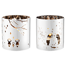 Buy Georg Jensen December Tales Tea Lights, Set of 2 Online at johnlewis.com