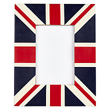 "Buy John Lewis Union Jack Photo Frame, 4 x 6"" Online at johnlewis.com"