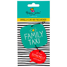 Buy Happy Jackson 'Family Taxi' Air Freshner Online at johnlewis.com