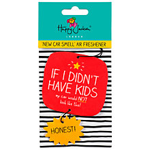 Buy Happy Jackson 'If I Didn't Have Kids' Air Freshner Online at johnlewis.com