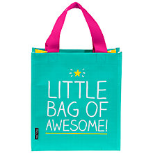 Buy Happy Jackson 'Little Bag of Awesome' Lunch Bag Online at johnlewis.com