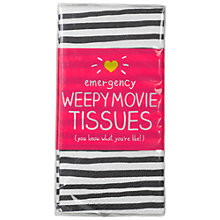 Buy Happy Jackson 'Weepy Movie' Pocket Tissues Online at johnlewis.com