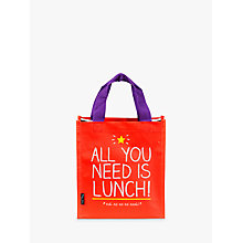 Buy Happy Jackson All You Need Lunch Bag Online at johnlewis.com