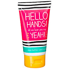 Buy Happy Jackson 'Hello Hands' Hand Cream, 75ml Online at johnlewis.com