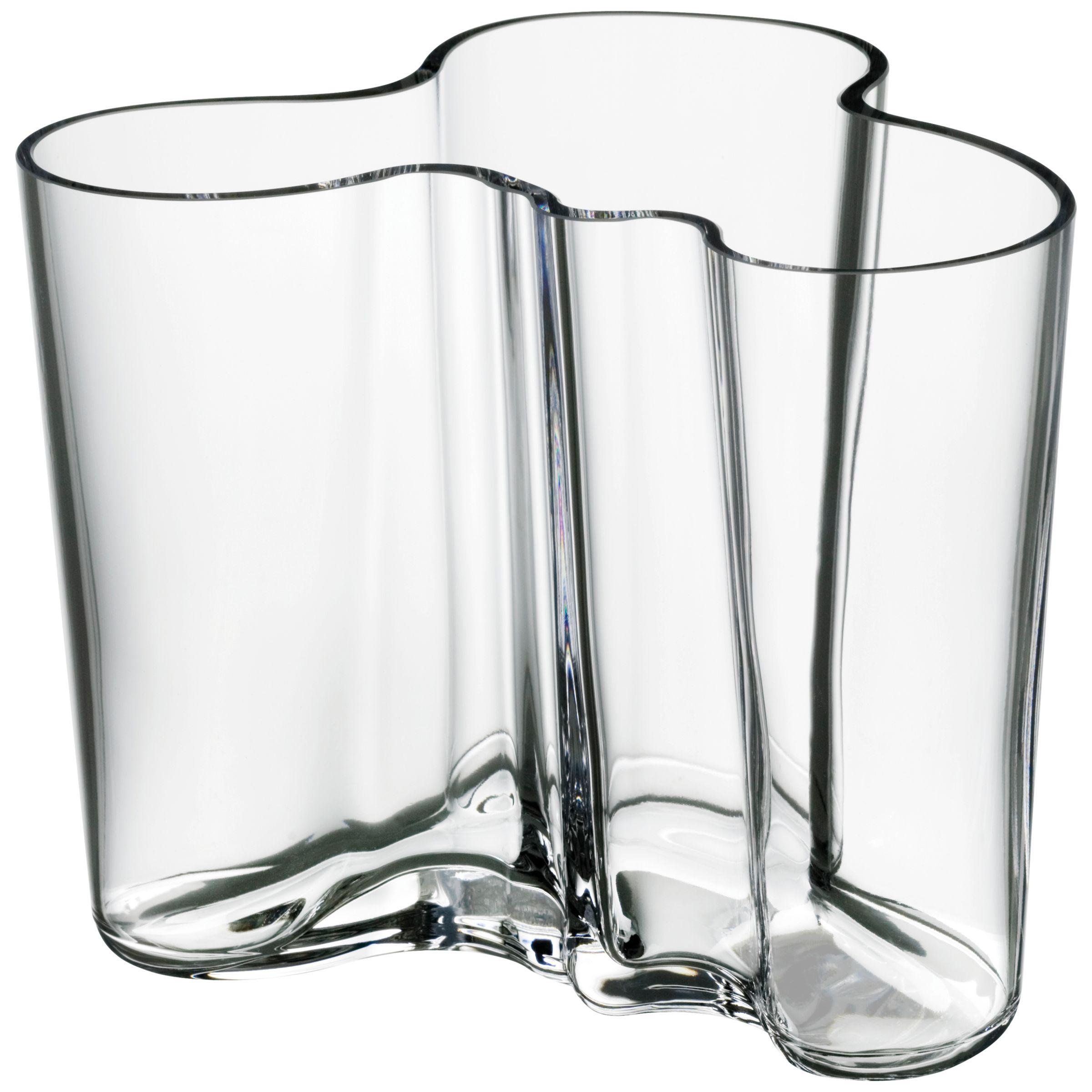 Iittala IIttala Aalto Vase, H12cm, Clear