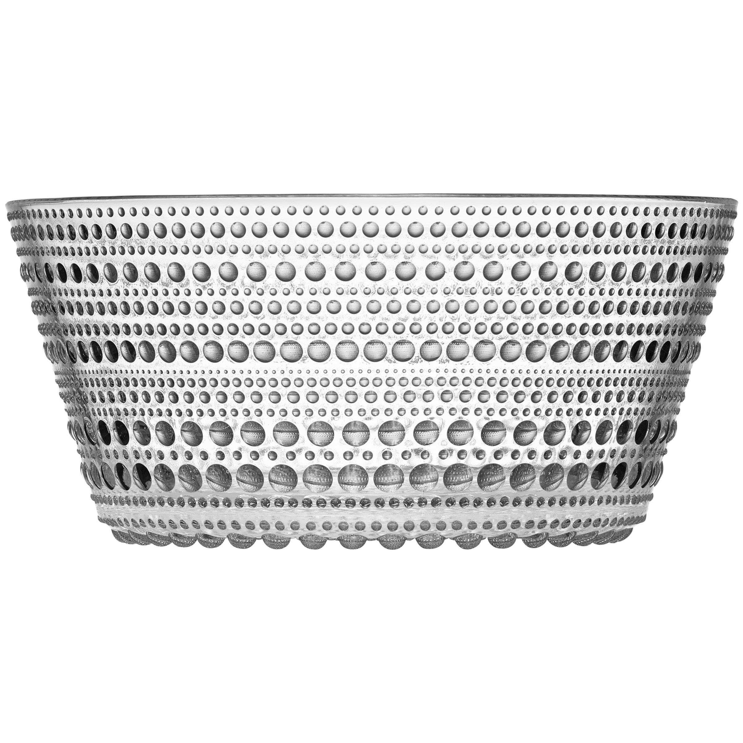 Iittala Iittala Kastehelmi Glass Bowl, Clear