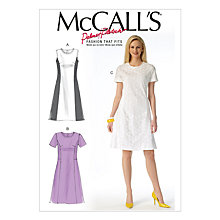 Buy McCall's Women's Plus Size Dresses Sewing Pattern, 7169 Online at johnlewis.com