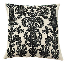 Buy Anette Eriksson Baroque Pillow Cover Half Cross Stitch Kit, White/Black Online at johnlewis.com