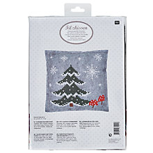 Buy Rico Felt Cushion Cross Stitch Kit, Multi Online at johnlewis.com