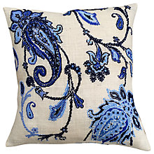 Buy Anette Eriksson Divine Pillow Cover Half Cross Stitch Kit, White Online at johnlewis.com