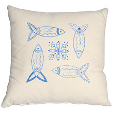 Buy Anette Eriksson Herring Pillow Cover Embroidery Kit Online at johnlewis.com