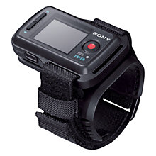 Buy Sony RM-LVR1 Live Remote Control with Wi-Fi for Sony Action Cam Online at johnlewis.com