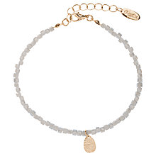 Buy Orelia Teardrop Facet Bracelet, Silver Online at johnlewis.com