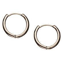 Buy Orelia Mini Hoop Earrings Online at johnlewis.com
