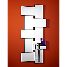Buy John Lewis Criss Cross Wall Mirror, 171 x 76cm Online at johnlewis.com
