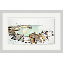 Buy Kelly Stewart - St.Ives Cornwall, Framed Limited Edition Print, 46.5 x 71.5cm Online at johnlewis.com