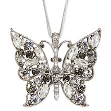 Buy Joanna Buchanan Butterfly Decoration, Silver and Gold Online at johnlewis.com