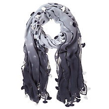 Buy Mint Velvet Spot Ombre Scarf, Multi Grey Online at johnlewis.com