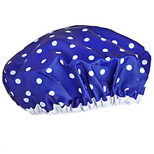 Buy Le Spa Bleu Shower Cap Online at johnlewis.com