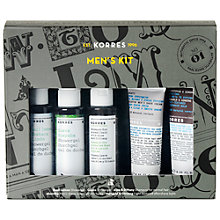 Buy Korres Men's Shower and Shave Kit Online at johnlewis.com