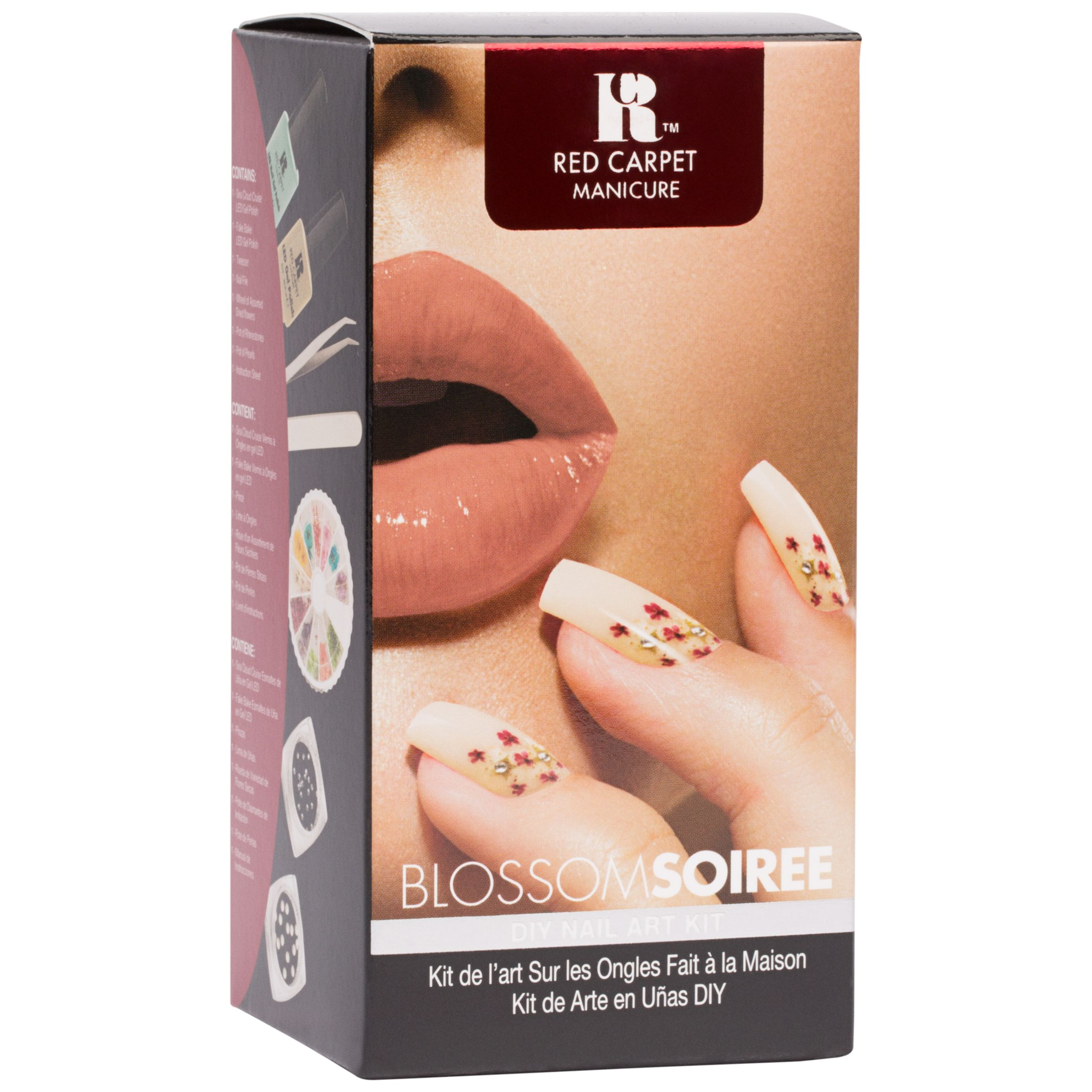 Red Carpet Manicure Red Carpet Manicure Blossom Soiree Flower Desing Nail Art Kit