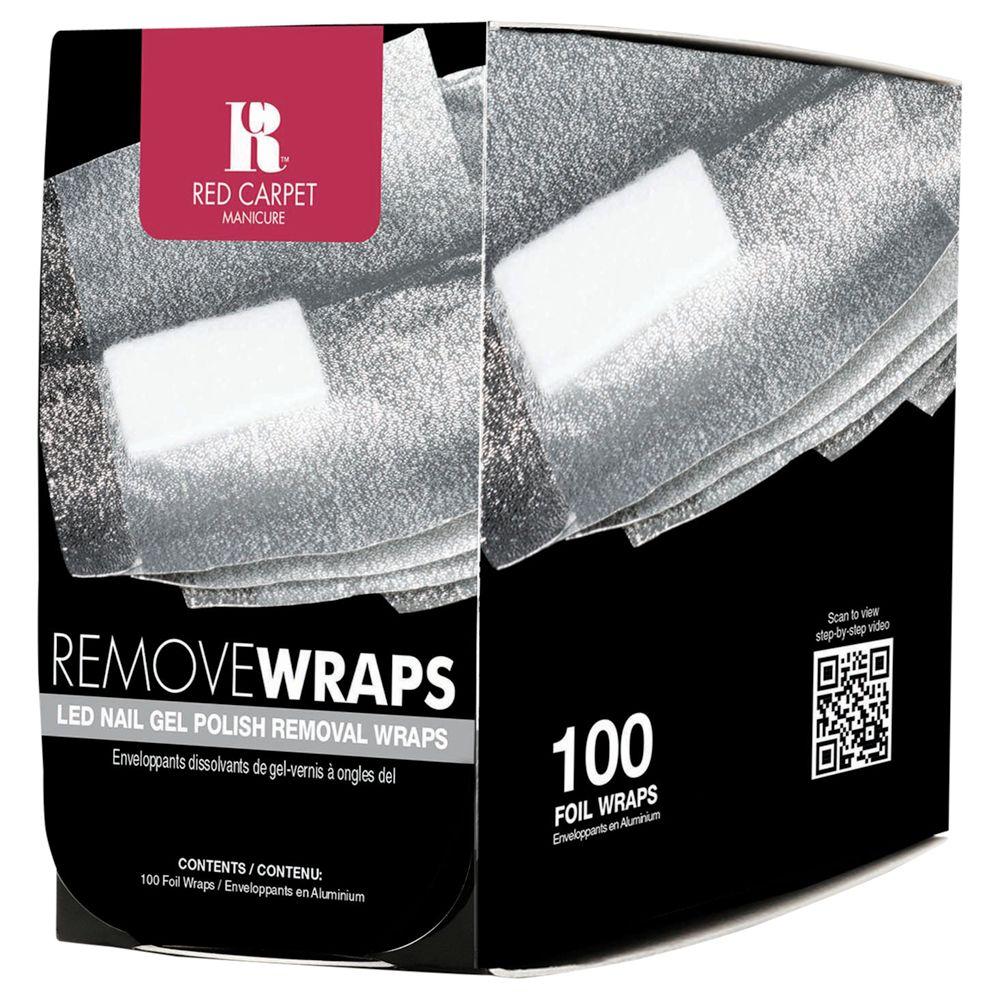 Red Carpet Manicure Red Carpet Manicure LED Nail Polish Remover Wraps, x 100