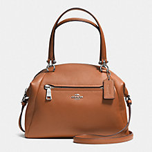 Buy Coach Prairie Leather Satchel, Tan Online at johnlewis.com