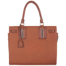 Buy Miss Selfridge Slot Bowler Bag Online at johnlewis.com