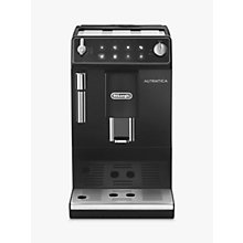 Buy De'Longhi ETAM 29.510.B Autentica Bean to Cup Coffee Machine, Black Online at johnlewis.com